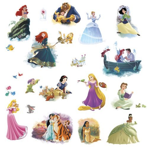Disney Princesses Dream Big Peel and Stick Wall Decals