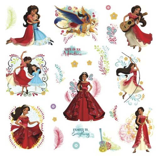 Disney Elena of Avalor Peel and Stick Wall Decals