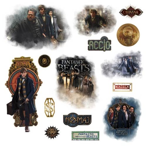 Fantastic Beasts and Where to Find Them Peel & Stick Decals