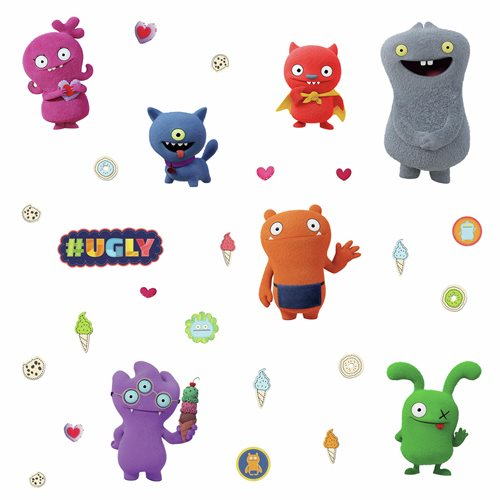 Uglydolls Character Peel and Stick Wall Decals