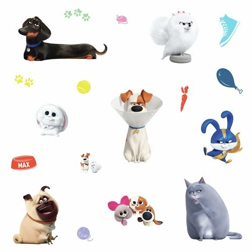 Secret Life of Pets 2 Peel and Stick Wall Decals