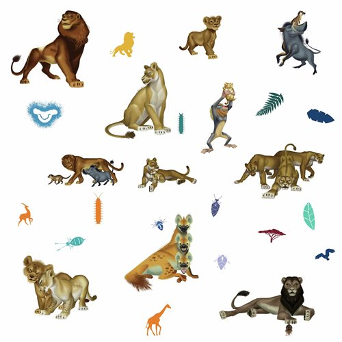 The Lion King Character Peel and Stick Wall Decals