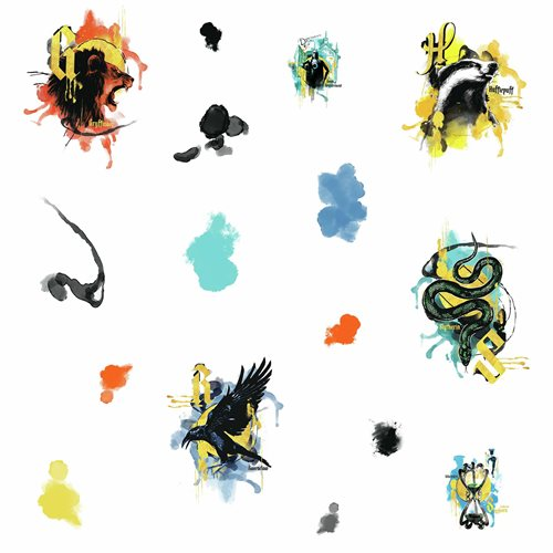 Harry Potter Hogwarts House Peel and Stick Wall Decals