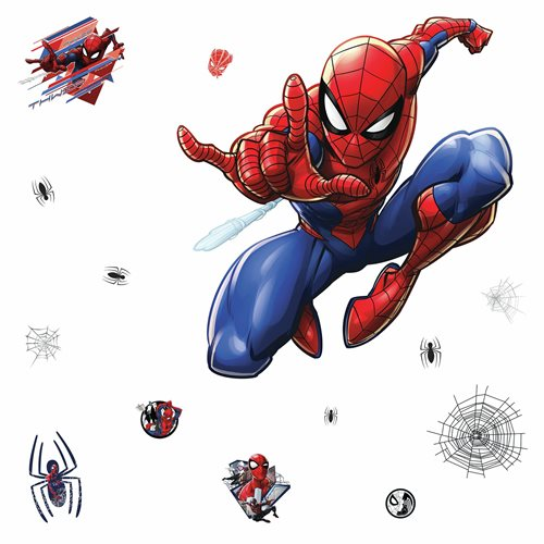 Spider-Man Peel and Stick Giant Wall Decals
