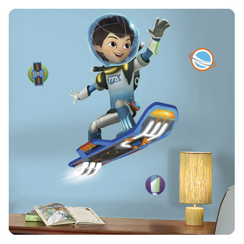 Miles From Tomorrowland Miles Flying Giant Wall Decals