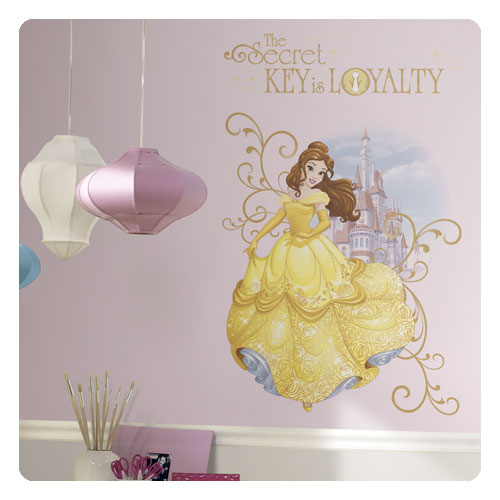 Beauty and the Beast Belle Peel and Stick Giant Wall Graphic