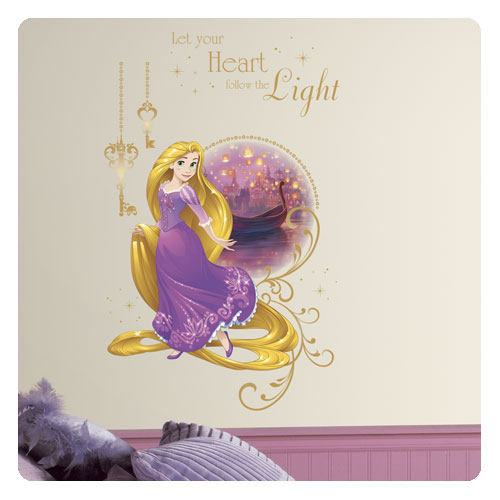 Tangled Rapunzel Peel and Stick Giant Wall Graphic