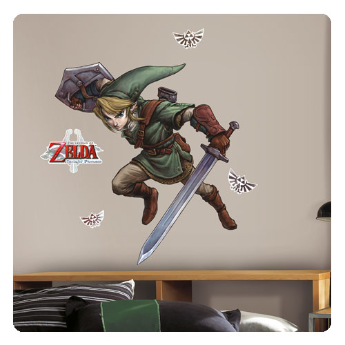 Legend of Zelda: Twilight Princess Link Giant Wall Decals