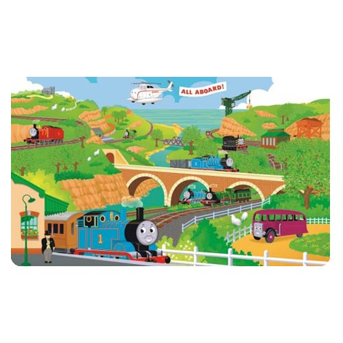 Thomas the Tank Engine Giant Ultra-Strippable Mural
