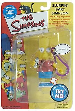 Bart Simpson Clip-On