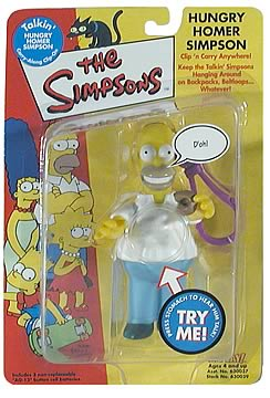 Homer Simpson Clip-On