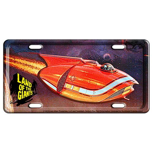 Land of the Giants License Plate