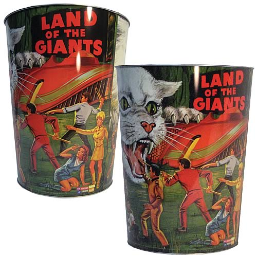 Land of the Giants Waste Basket