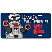 Lost in Space Metal License Plate