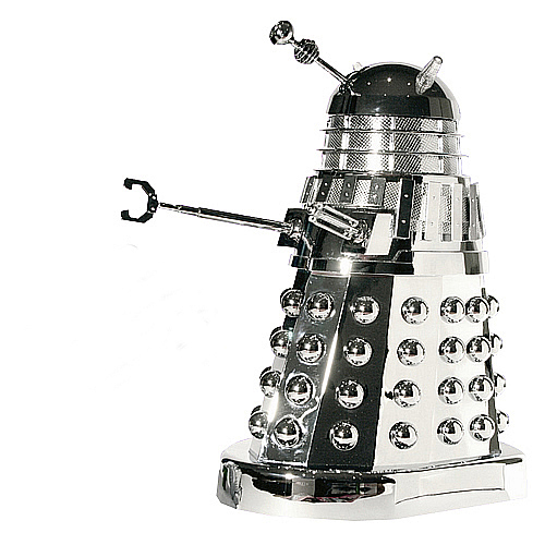 Doctor Who Movie Micro Talking Chrome Dalek