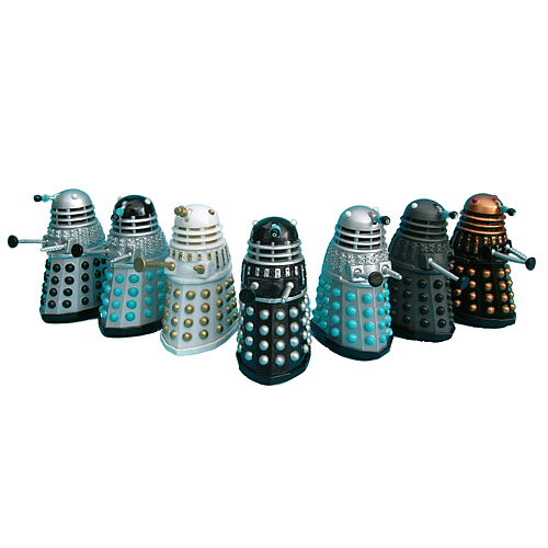 Dr. Who Micro Talking Daleks Set