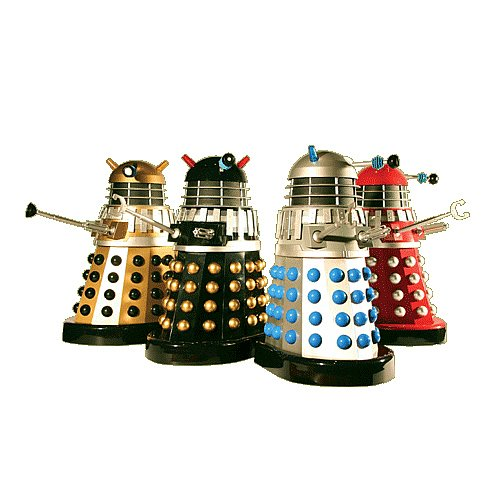 Doctor Who 12-Inch Movie Dalek Set