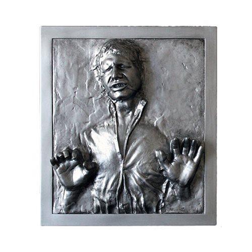 Star Wars Han Solo Carbonite 6 1/2-Inch Mini Plaque
