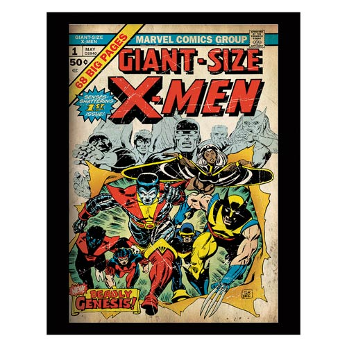 X-Men Deadly Genesis Comic Cover Stretched Canvas Print