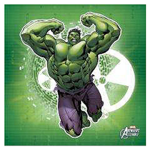 Hulk Green Stretched Canvas Print