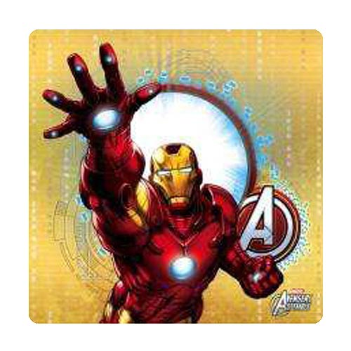 Iron Man Red Stretched Canvas Print