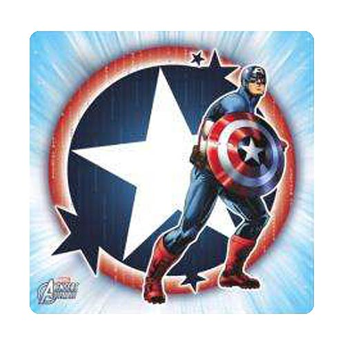 Captain America Light Stretched Canvas Print