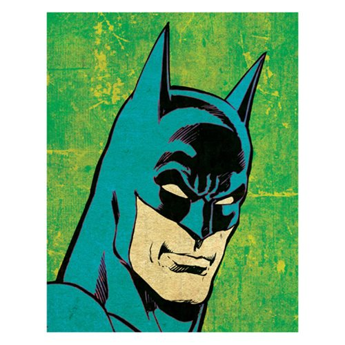 Batman Pop Character Art Canvas Print