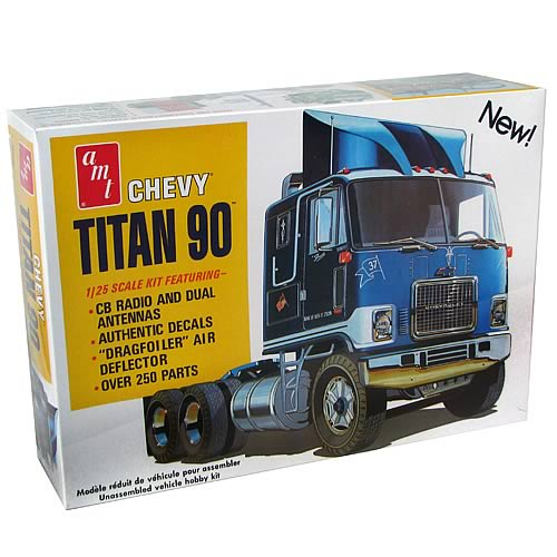 Chevy Titan 90 Cabover Model Kit