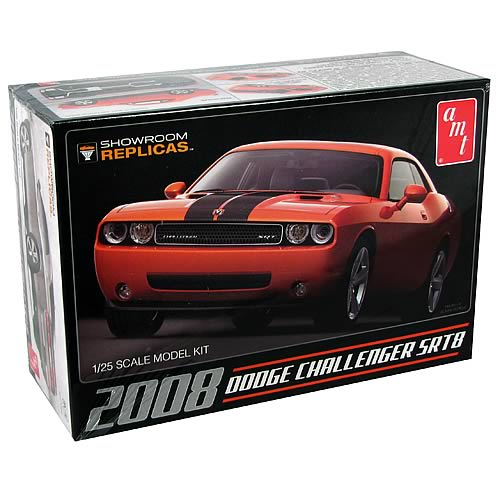 Dodge Challenger 08 SRT8 Showroom Replicas Model Kit