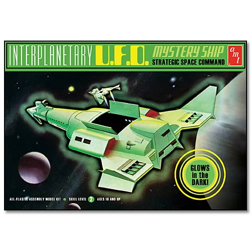Interplanetary UFO Mystery Ship Model Kit