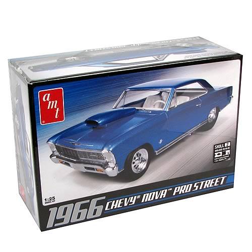 Chevy 1966 Nova Pro Street Model Kit