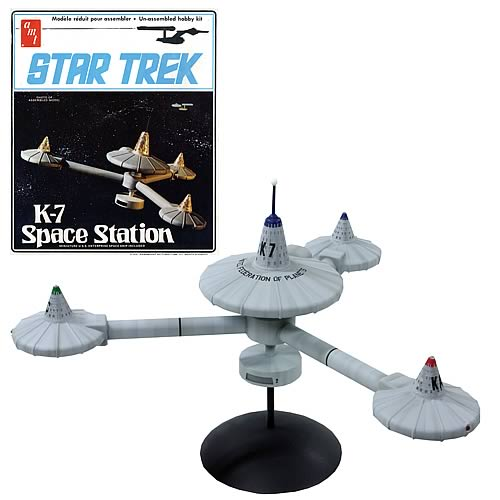 Star Trek K-7 Space Station Model Kit