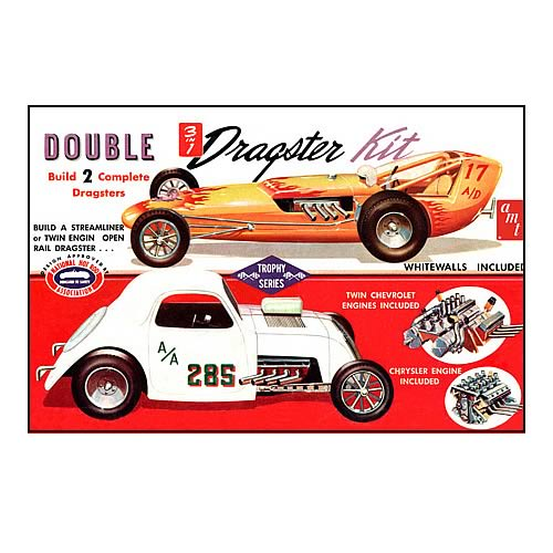 Double Dragster Model Kit