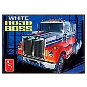 White Road Boss Truck Model Kit