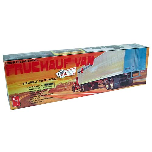 AMT Fruehauf Van Model Kit
