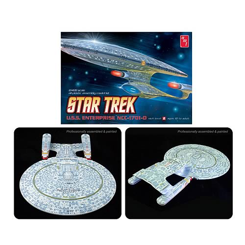 Star Trek USS Enterprise NCC-1701-D Model Kit