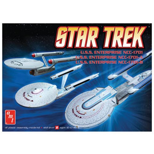 Star Trek Enterprise Cadet Series Set Model Kits