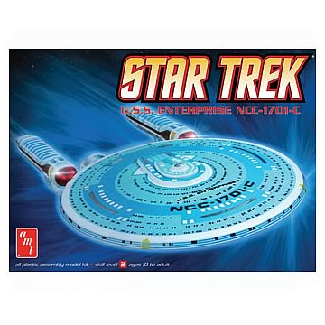 Star Trek Enterprise 1701-C 1:2500 Scale Model Kit