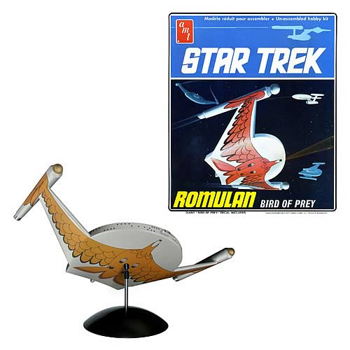 Star Trek Romulan Bird of Prey Model Kit