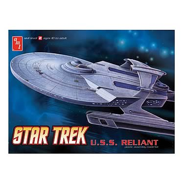 Star Trek USS Reliant NCC-1864 1:537 Scale Model Kit