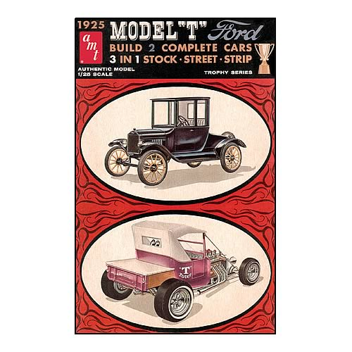 Ford 1925 Tall T Model Kit