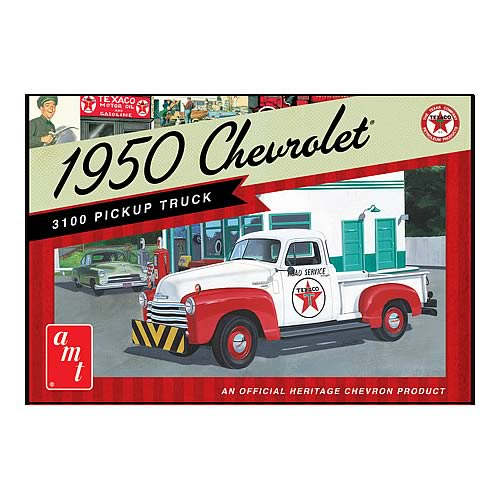 Chevy 1950 Texaco Pickup Truck Model Kit