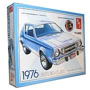 1976 AMC Gremlin X 1:25 Scale Model Kit