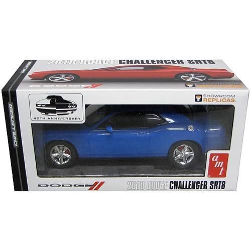 Dodge Challenger SRT8 2010 B5 Blue Assembled Model Kit