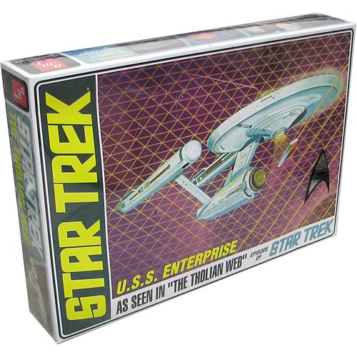 Star Trek TOS U.S.S. Defiant Tholian Web GITD Model Kit