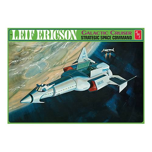 Leif Ericson Galactic Cruiser Space Command Model Kit