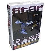 Star Trek Klingon Battle Cruiser Special Ed. Tin Model Kit