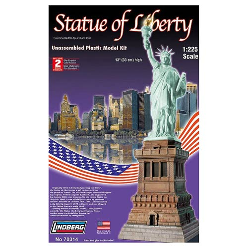Statue of Liberty 1:225 Scale Model Kit