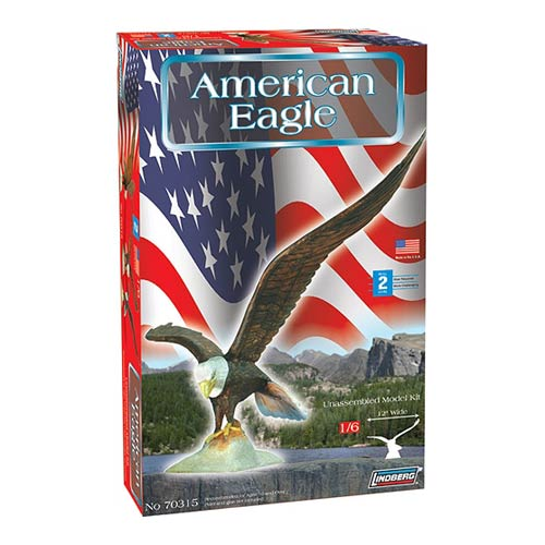 American Bald Eagle 1:6 Scale Model Kit