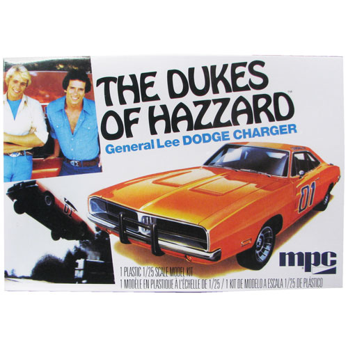 Dukes of Hazzard General Lee 1969 Dodge Charger Model Kit
